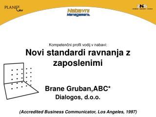 Kompetenčni profil vodij v nabavi: Novi standardi ravnanja z zaposlenimi