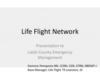 Life Flight Network