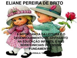 ELIANE PEREIRA DE BRITO