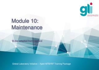 Module  10:  Maintenance