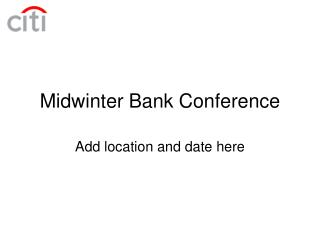 Midwinter Bank Conference