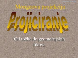 Mongeova projekcija