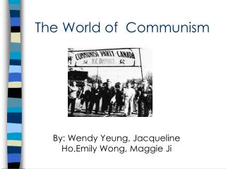 The World of  Communism