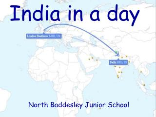 India in a day North Baddesley Junior School