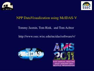 NPP DataVisualization using McIDAS-V