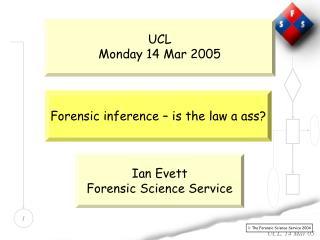 UCL Monday 14 Mar 2005