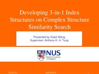 Developing 3-in-1 Index Structures on Complex Structure Similarity Search