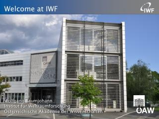 Welcome at IWF