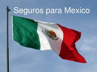 Seguros para Mexico