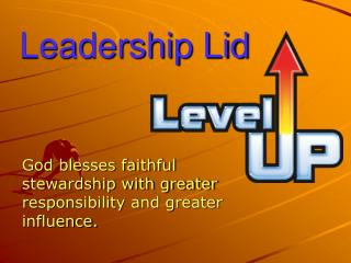 Leadership Lid