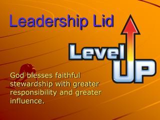 Leadership Lid