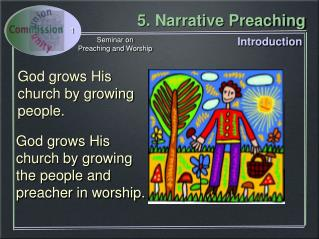 God grows His church by growing people.