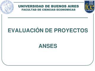 UNIVERSIDAD DE BUENOS AIRES FACULTAD DE CIENCIAS ECONOMICAS