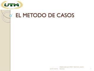 EL METODO DE CASOS