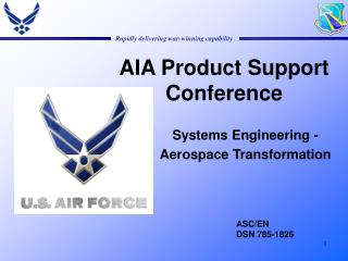 AIA Product Support Conference