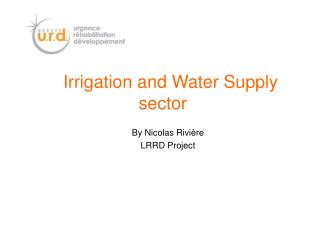 Irrigation and Water Supply  sector