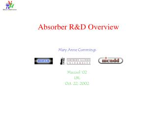 Absorber R&D Overview