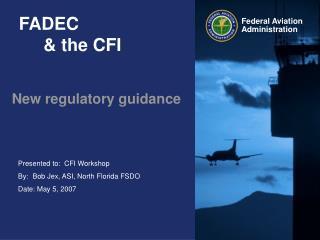 FADEC      & the CFI