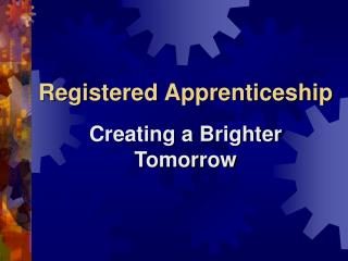 Registered Apprenticeship