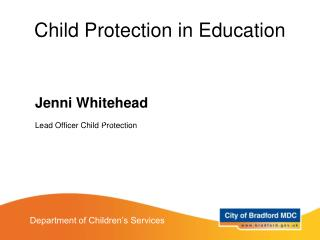 Child Protection in Education
