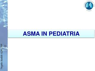 ASMA IN PEDIATRIA