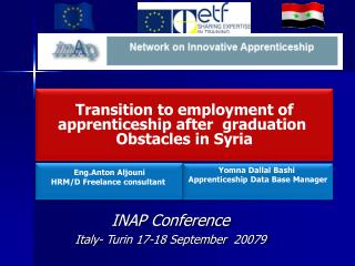 INAP Conference Italy- Turin 17-18 September  20079