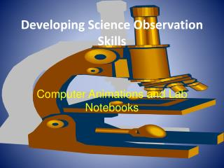 Developing Science Observation Skills