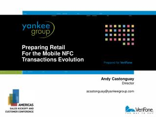 Preparing Retail For the Mobile NFC Transactions Evolution