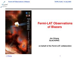 Fermi-LAT Observations of Blazars