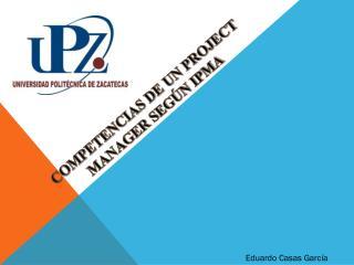 COMPETENCIAS DE UN PROJECT MANAGER SEGÚN IPMA