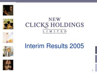 Interim Results 2005