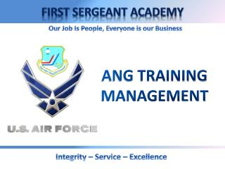 ANG TRAINING MANAGEMENT