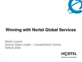 Martin Lococo Service Sales Leader – Canada/North Central INNUA 2008