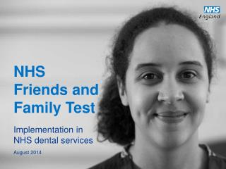 NHS Friends and Family Test