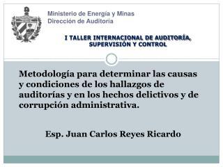 Ministerio de Energía y Minas Dirección de Auditoría
