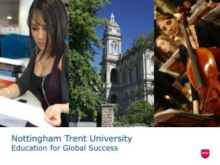 Nottingham Trent University Education for Global Success