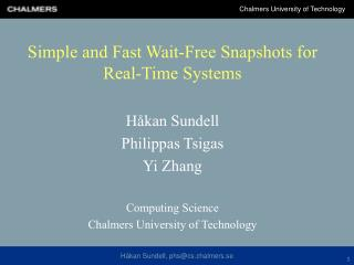 Simple and Fast Wait-Free Snapshots for Real-Time Systems
