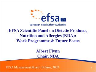 EFSA Management Board, 19 June, 2007