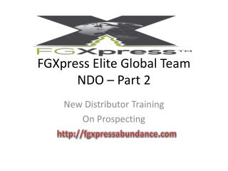 FGXpress  Elite Global Team NDO � Part 2