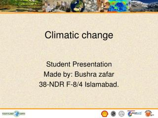 Climatic change