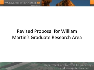 Proposal for MSc Thesis