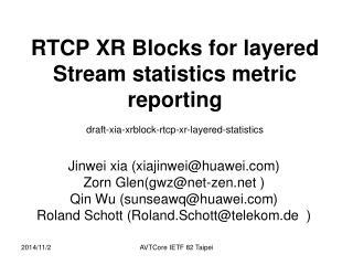 Jinwei xia (xiajinwei@huawei) Zorn Glen(gwz@net-zen ) Qin Wu (sunseawq@huawei)
