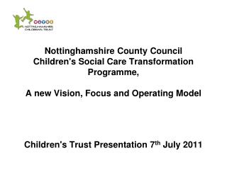 Children�s Social care Vision