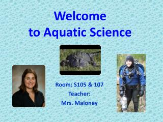 Welcome  to Aquatic Science