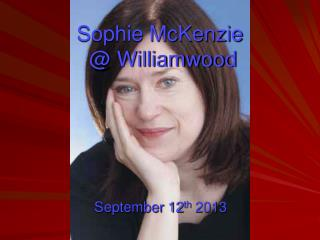 Sophie McKenzie  @ Williamwood