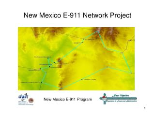 New Mexico E-911 Network Project