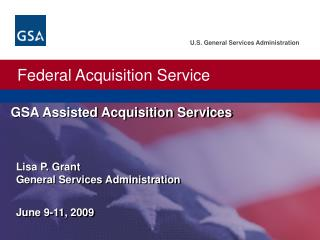 GSA Assisted Acquisition Services