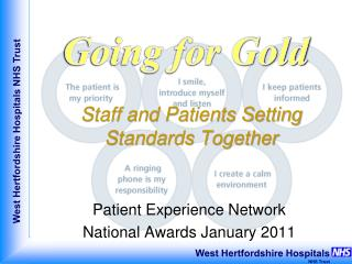 Staff and Patients Setting Standards Together