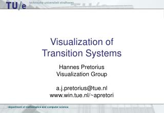 Visualization of  Transition Systems