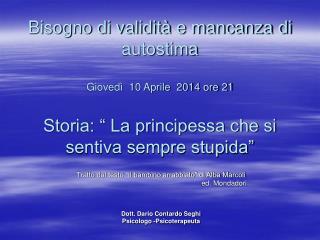 """Tratto dal testo """"Il bambino arrabbiato"""" di Alba Marcoli"""